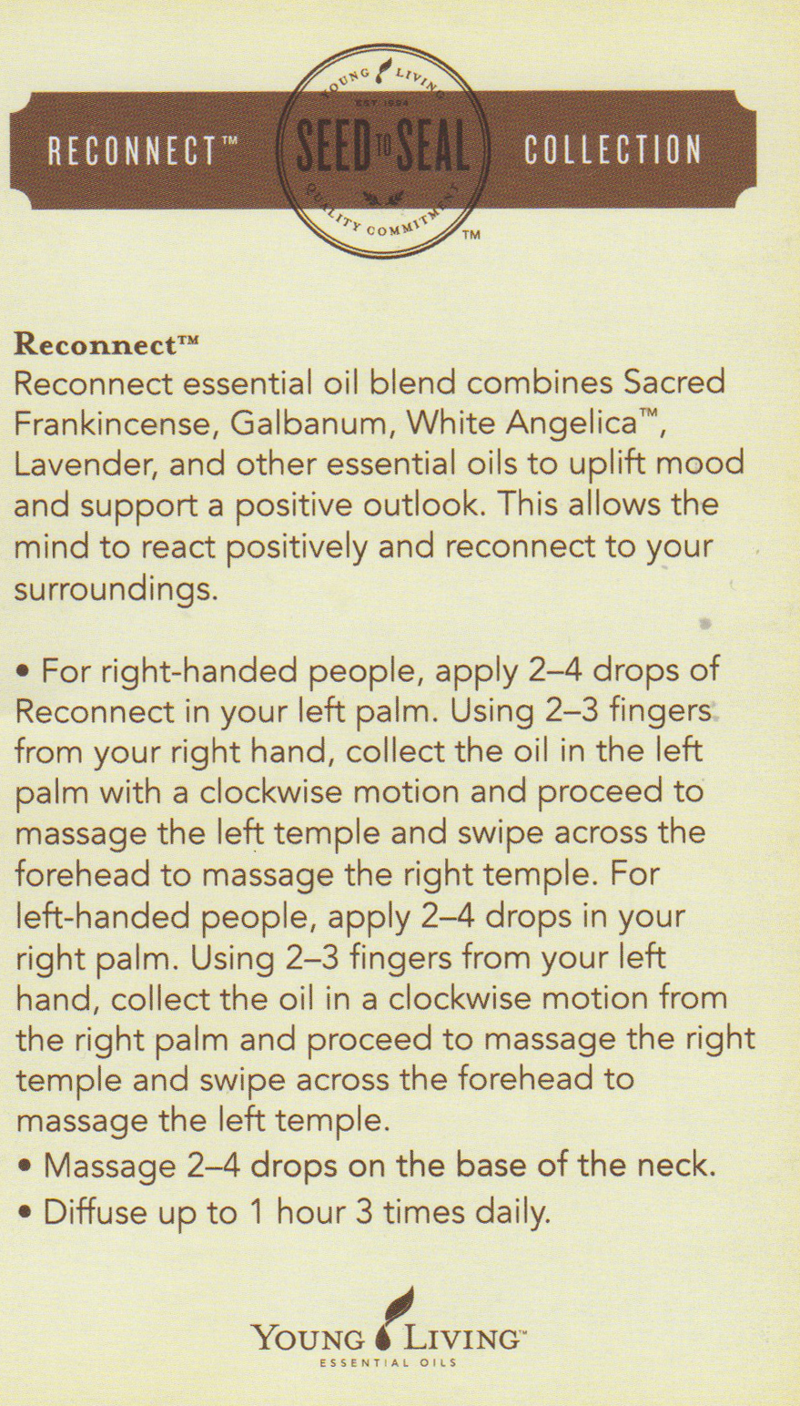 Reconnect Collection By Young Living Pinball Mama